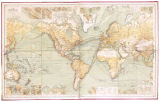 CHART OF THE WORLD ON MERCATORS PROJECTION. 10TH ED.