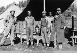 Some of the soldiers that built the Alaska Highway