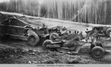 Earthmovers and the construction of the Alaska Highway