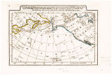 MAP OF THE DISCOVERIES MADE BY CAPTS. COOK & CLERKE IN THE YEARS 1778 & 1779 BETWEEN THE...