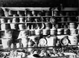 Tlingit spruce root baskets.