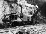 U.S. Railway. steam shovel, near Moose Creek.