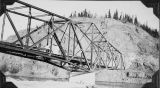Tanana River bridge, 1942-43.