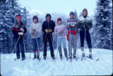 Group of skiers.