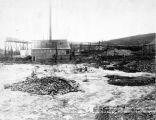 Shepherd bros mining plant and winter dumps May 5, 1905. D.A. McCarty's claim. Discovery,...