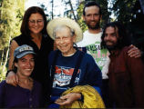 Jen Landry, Susanne Lyle, Bill Fuller, David van den Berg, Larry Landry. Goldstream Creek.