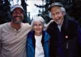 Kevin Maxwell, Nancy & Bill Fuller. Cloudberry, Alaska.