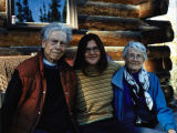 Bill Fuller, Susanne Lyle, Nancy Fuller. Cloudberry, Alaska.
