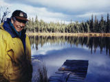Bill Fuller at Cloudberry Lake.