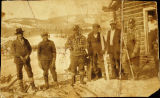 People at Mansfield, Alaska, circa 1920.