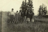 People in Tanacross, circa 1930s.