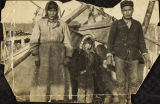 Seline and Old Blind Jimmy (Old Chief Healy's brother) with their adopted daughter, Ellen (Demit),...