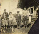 People from Healy Lake, circa 1927.
