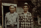 Frank Luke and Reverend David Paul, Tanacross, circa 1958.