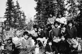 Gathering of children from Tanacross, date unknown