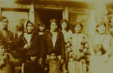 Women and children of Tanacross, date unknown.