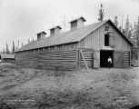 Headquarters stable and barn. June 27th, 1917. Nenana, Alaska.