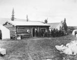Store at residency 3. Mile 385. Aug. 26th, 1917.