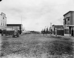 A St. Looking south. June 27th, 1917. Nenana, Alaska.