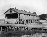 Electrically operated saw mill. June 26th, 1917. Nenana, Alaska.