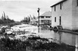 Nenana in flood. July 20th, 1917.