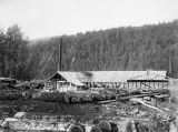 A. E. C. sawmill at Camp 245. Capacity 12,000 ft.
