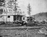 Cottages of A. E. C. Nenana, Alaska. Aug. 1st, 1916.