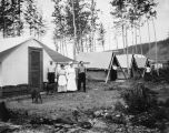 Hospital mess-tent, A. E. C. Nenana, Alaska. July 31st, 1916.