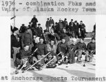1936 combination Fbks and Univ. of Alaska Hockey Team