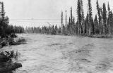 Lost Slough during high water. Aug. 12, 1917.