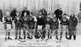 Dawson, Y.T. Hockey Team at the 1936 Ice Carnival