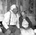 Chief Peter John and wife.