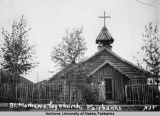 St. Mathews. Log Church, Fairbanks.