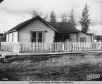 Judge Wickersham's residence, Fairbanks.