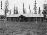 Bishop's lodge. Nenana, Alaska, 1934.