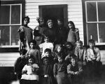 School at Fox, 1913.