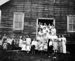 School picnic at Fox, 1914.