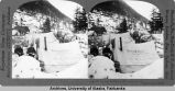 Dr. J. Jones' Residence - Preparing Dinner, Sheep Camp, Alaska