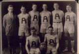 Alaska Agricultural College and School of Mines basketball team, 1922-23.