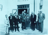 Dedication of Mines Building. 50th anniversary of the discovery of gold - 1952. Italian government...
