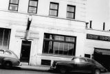 More detail of 2nd Ave. This is News-Miner Office. Fairbanks, 8/30/1944.