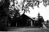 Log building in Fairbanks, September 1944.