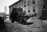 No sewer system, so they remove as much snow as possible before the big thaw. Nordale Hotel in...