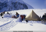 Slide # 090: Establishing camp at 12,000ft.