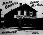Canadian Bank of Commerce. Capital paid up six million dollars. Dawson, Y.T.  - 1900.