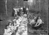 Third annual picnic of the M.E. sunday school of Dawson, Y.T. August 1901.