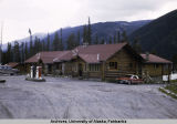Slide # 196: Roadhouse near Whitehorse in the Yukon Territory.