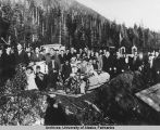 Terao Funeral, Ketchikan, 1925 or 1926.