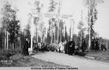Dedication Day at the Alaska Agricultural College and School of Mines, September 13, 1922.