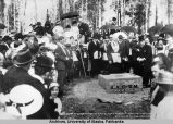Laying of Cornerstone, 1915